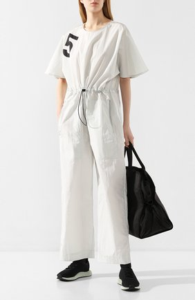 Женские текстильные кроссовки alphaedge 4d ADIDAS BY STELLA MCCARTNEY серого цвета, арт. EH3488 | Фото 2