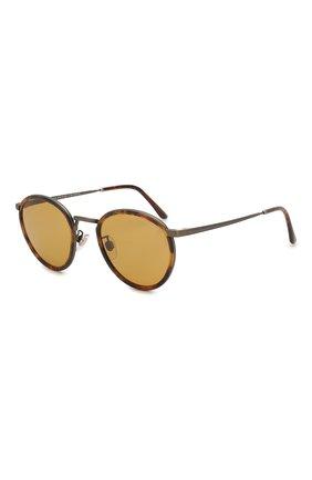 Женские солнцезащитные очки GIORGIO ARMANI коричневого цвета, арт. 101M-3292R9 | Фото 1