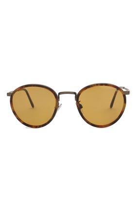 Женские солнцезащитные очки GIORGIO ARMANI коричневого цвета, арт. 101M-3292R9 | Фото 4