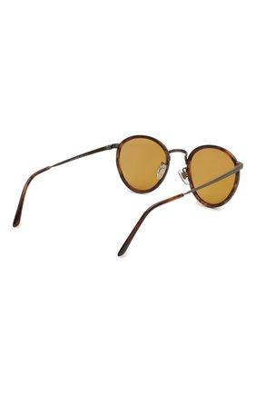 Женские солнцезащитные очки GIORGIO ARMANI коричневого цвета, арт. 101M-3292R9 | Фото 5