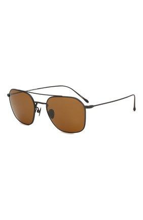 Женские солнцезащитные очки GIORGIO ARMANI коричневого цвета, арт. 6095T-327733 | Фото 1