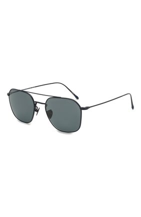 Женские солнцезащитные очки GIORGIO ARMANI синего цвета, арт. 6095T-3278R5 | Фото 1