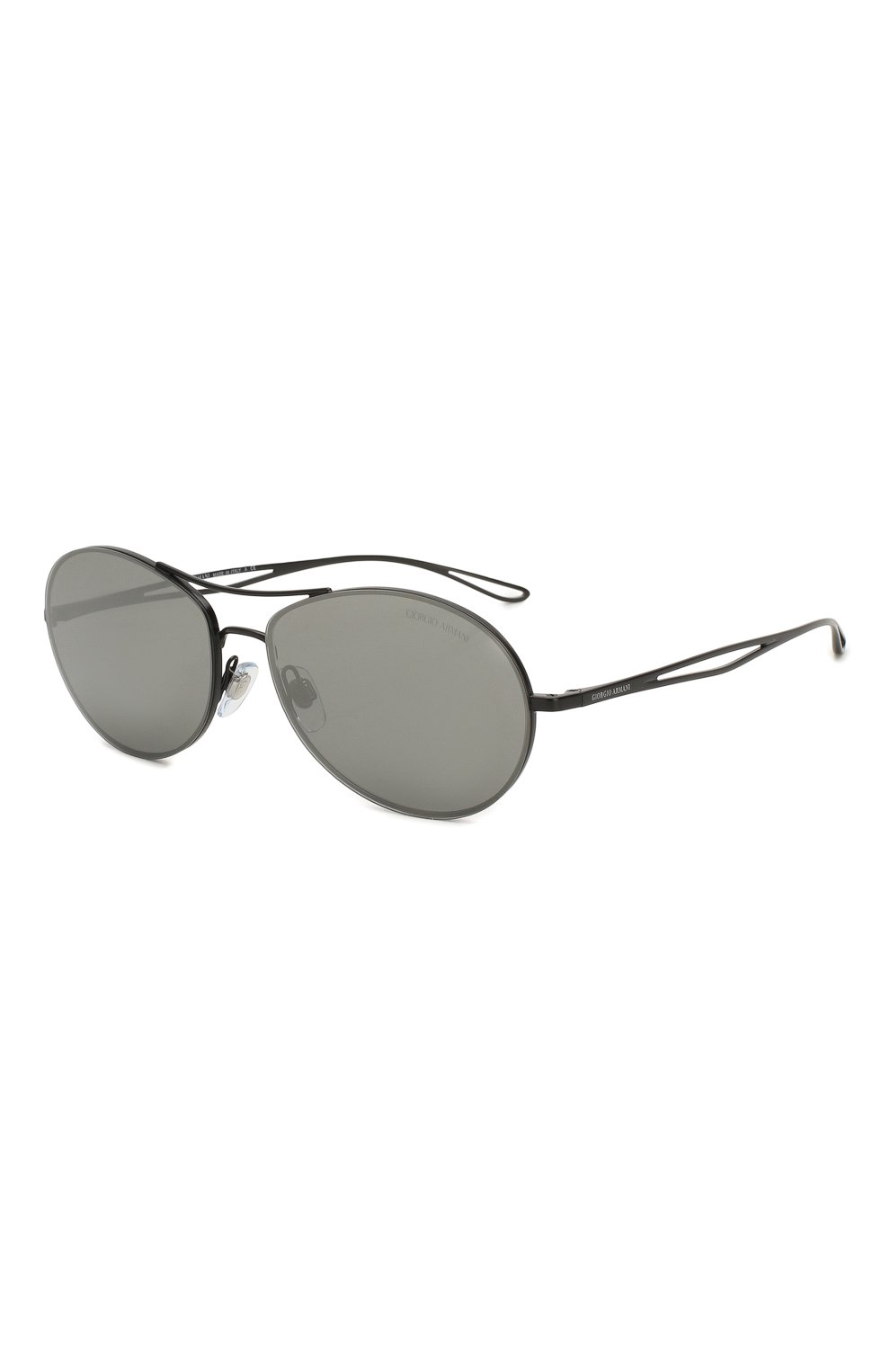 Женские солнцезащитные очки GIORGIO ARMANI серого цвета, арт. 6099-30016G | Фото 1