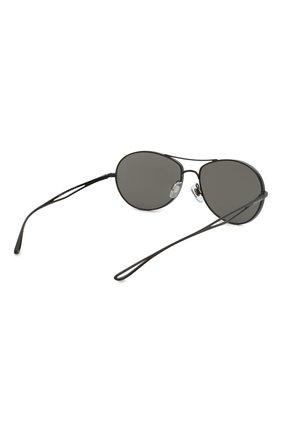 Женские солнцезащитные очки GIORGIO ARMANI серого цвета, арт. 6099-30016G | Фото 5