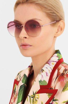 Мужские солнцезащитные очки MARC JACOBS (THE) розового цвета, арт. MARC 406/G 8CQ | Фото 2