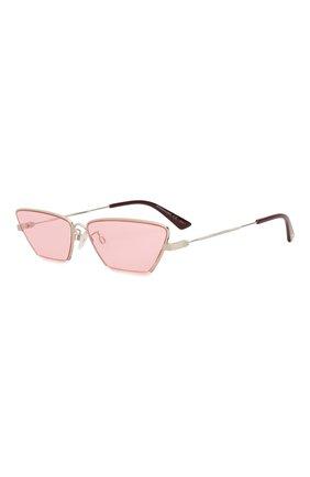 Женские солнцезащитные очки MCQ SWALLOW розового цвета, арт. MQ0259S 003 | Фото 1