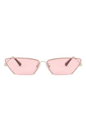 Женские солнцезащитные очки MCQ SWALLOW розового цвета, арт. MQ0259S 003 | Фото 3