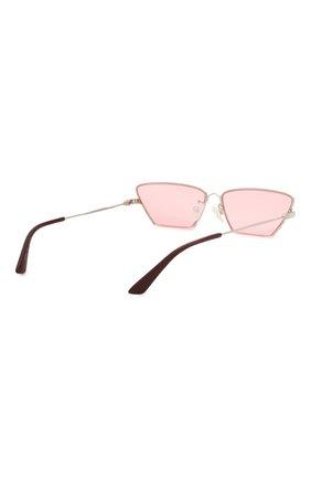 Женские солнцезащитные очки MCQ SWALLOW розового цвета, арт. MQ0259S 003 | Фото 4