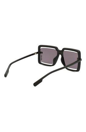 Женские солнцезащитные очки KENZO черного цвета, арт. KZ40049U 02A   Фото 4
