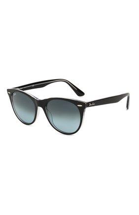 Женские солнцезащитные очки RAY-BAN синего цвета, арт. 2185-12943M   Фото 1
