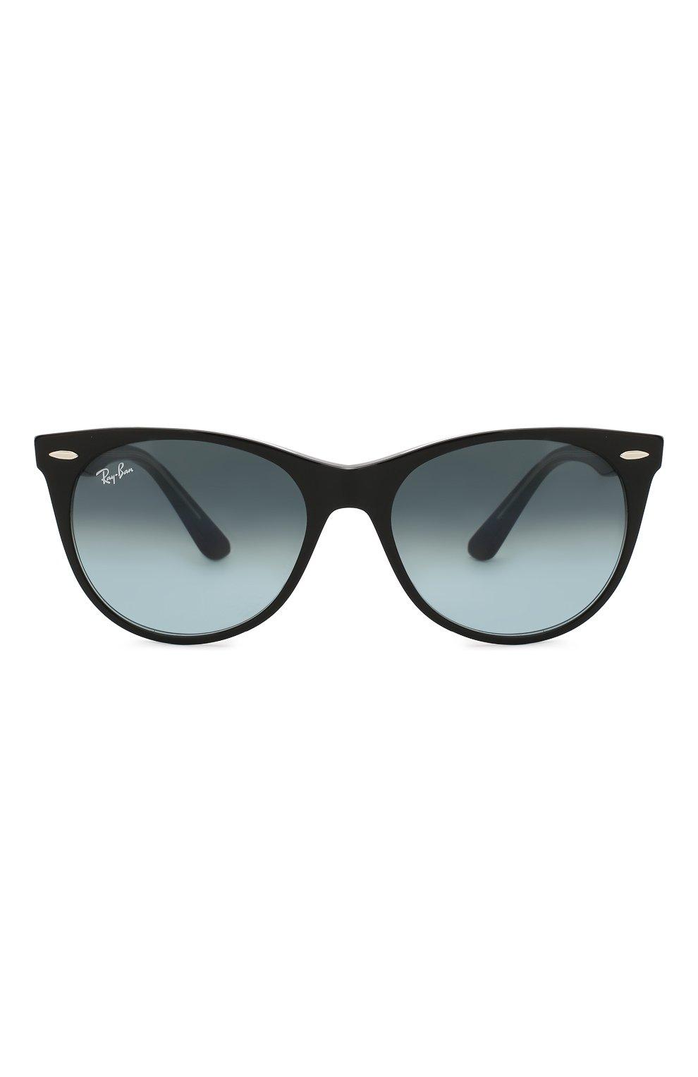 Женские солнцезащитные очки RAY-BAN синего цвета, арт. 2185-12943M   Фото 3