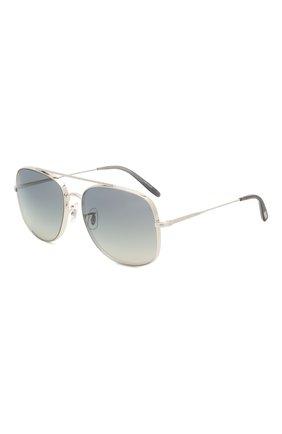 Мужские солнцезащитные очки OLIVER PEOPLES серого цвета, арт. 1272S-50366I | Фото 1