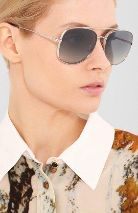 Мужские солнцезащитные очки OLIVER PEOPLES серого цвета, арт. 1272S-50366I | Фото 2