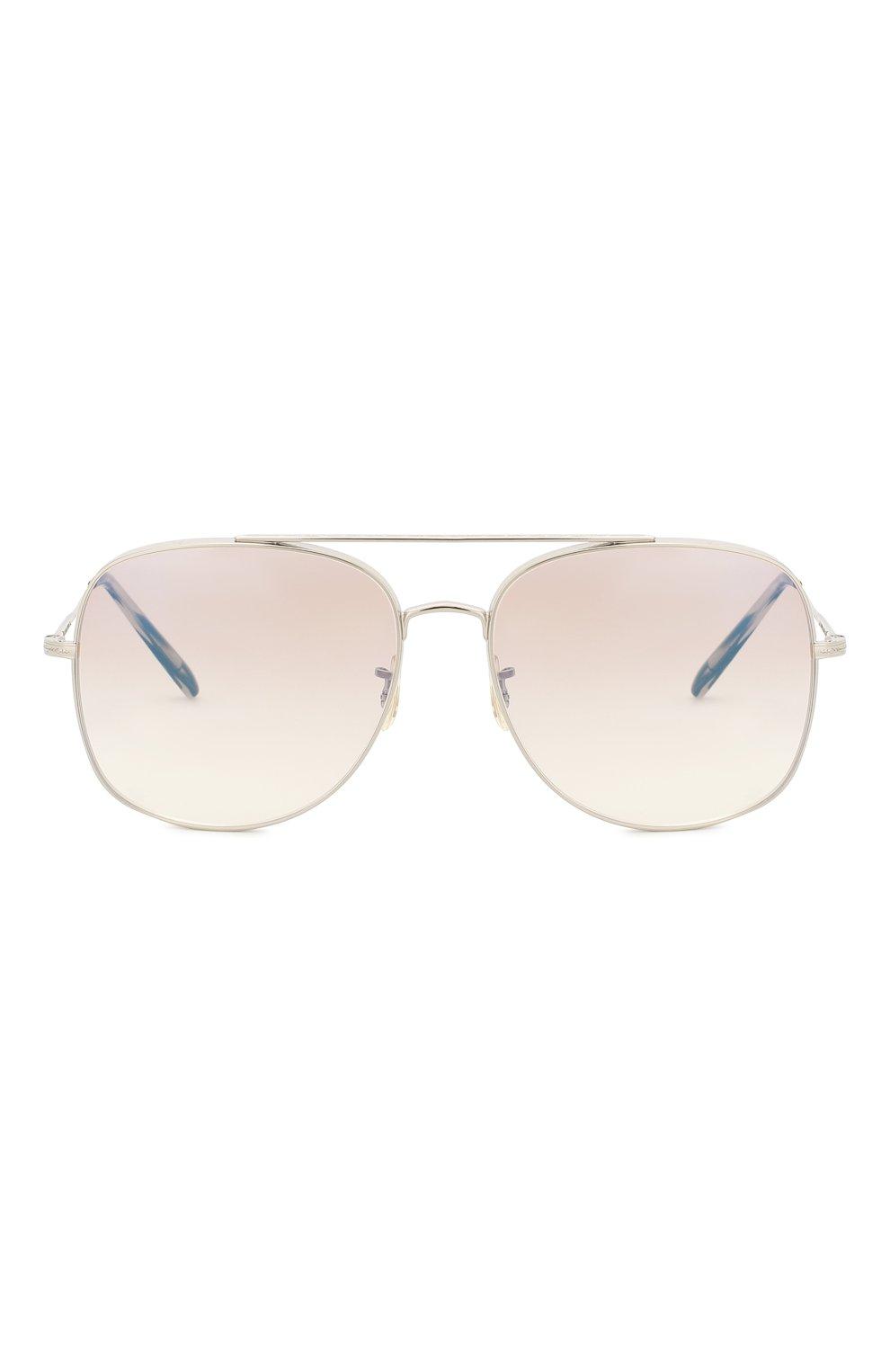 Женские солнцезащитные очки OLIVER PEOPLES сиреневого цвета, арт. 1272S-5036K3 | Фото 3