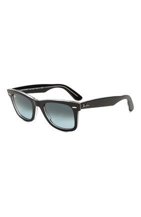 Женские солнцезащитные очки RAY-BAN черного цвета, арт. 2140-12943M | Фото 1