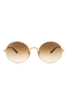 Женские солнцезащитные очки RAY-BAN коричневого цвета, арт. 1970-914751   Фото 4
