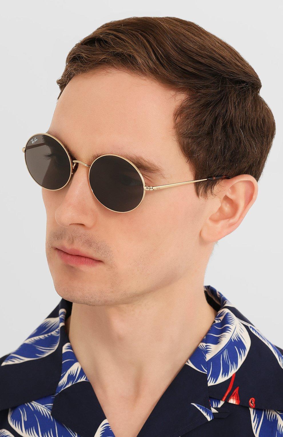 Женские солнцезащитные очки RAY-BAN серого цвета, арт. 1970-9150B1   Фото 3