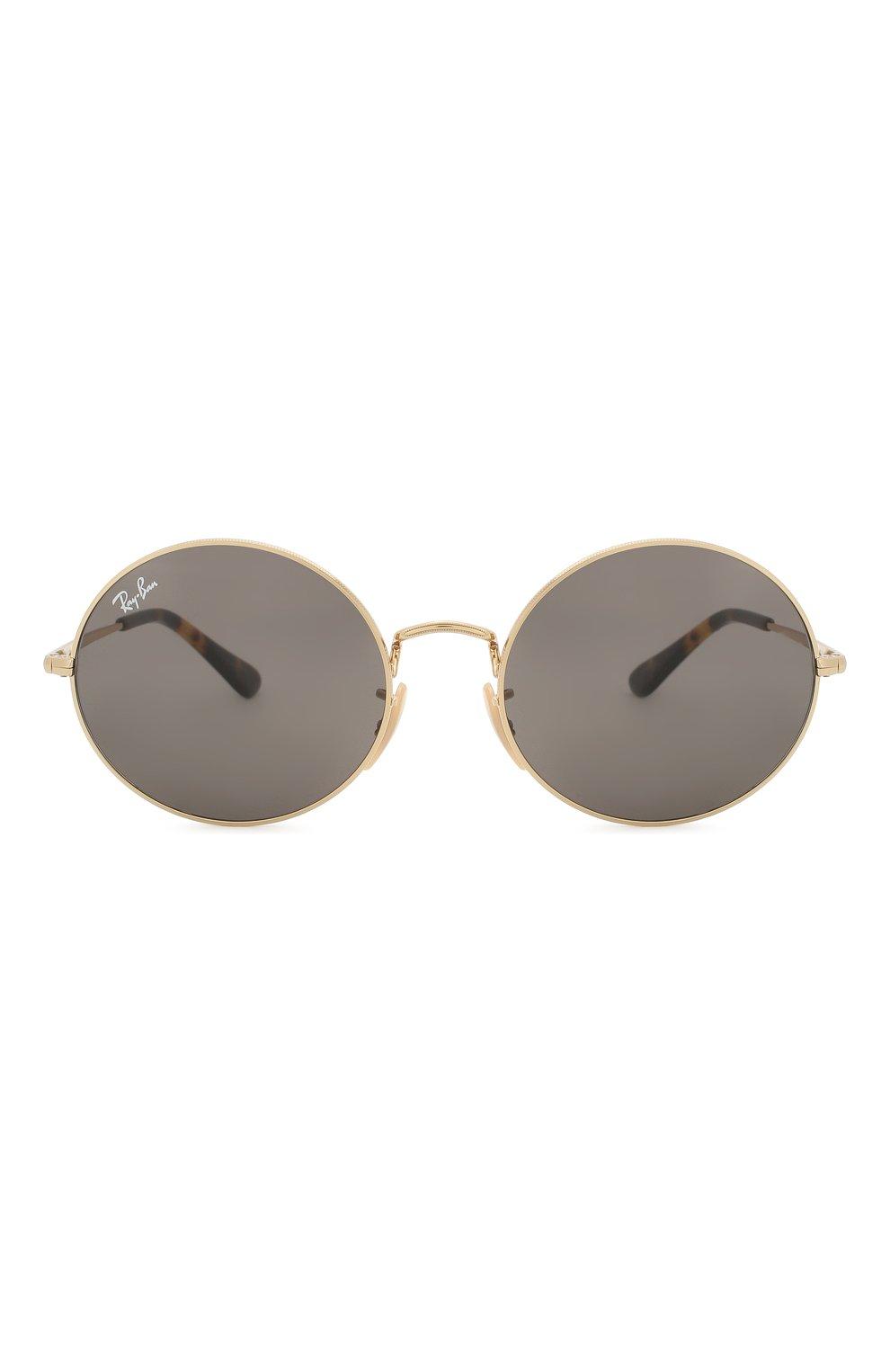 Женские солнцезащитные очки RAY-BAN серого цвета, арт. 1970-9150B1   Фото 4