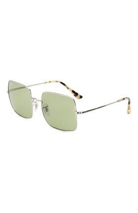 Женские солнцезащитные очки RAY-BAN зеленого цвета, арт. 1971-91974E | Фото 1