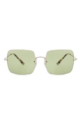 Женские солнцезащитные очки RAY-BAN зеленого цвета, арт. 1971-91974E | Фото 4