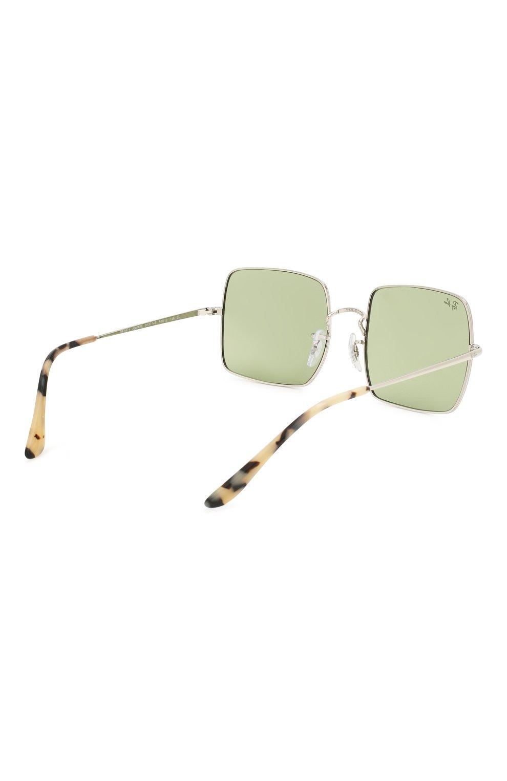 Женские солнцезащитные очки RAY-BAN зеленого цвета, арт. 1971-91974E | Фото 5