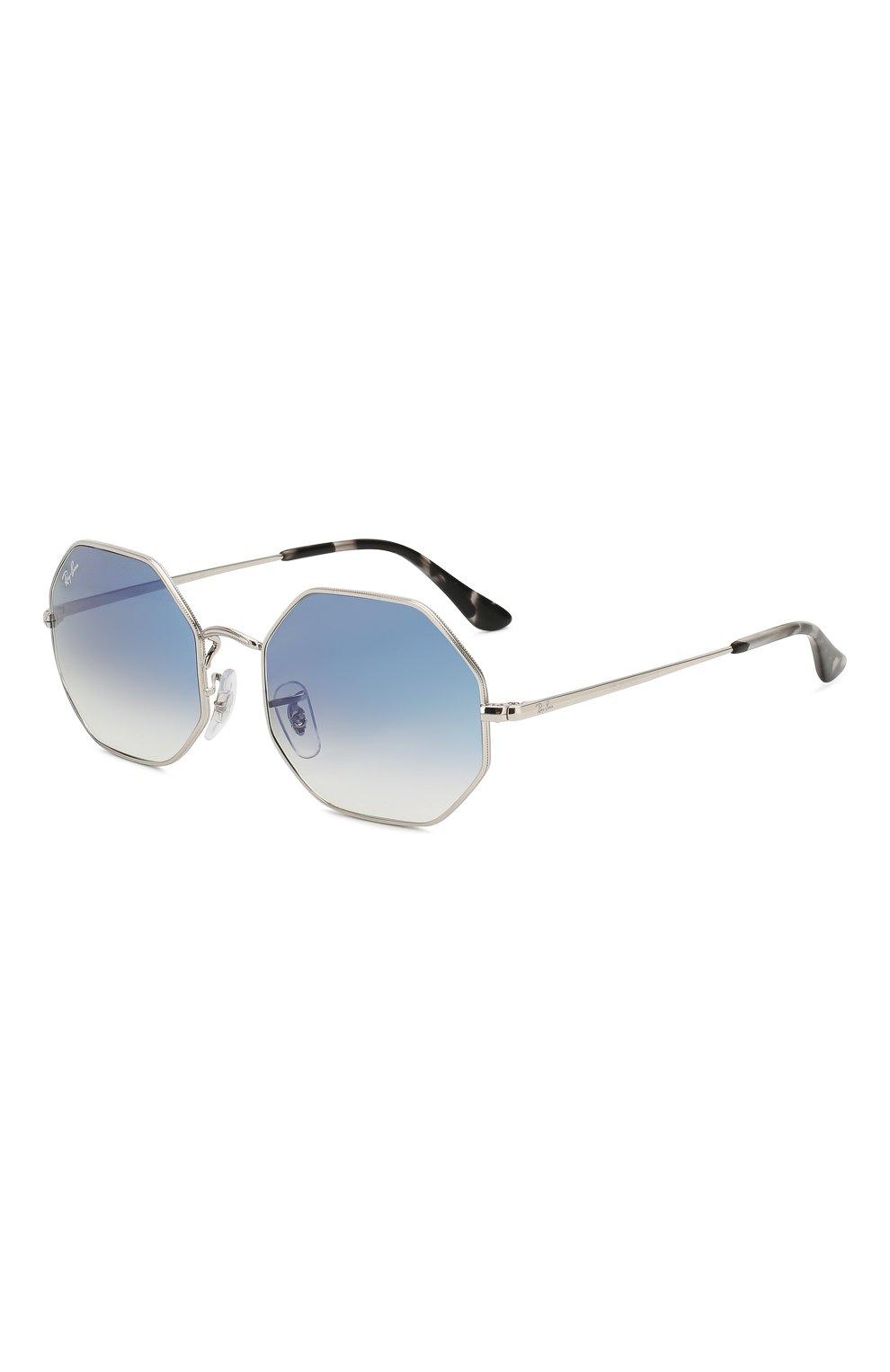 Женские солнцезащитные очки RAY-BAN голубого цвета, арт. 1972-91493F | Фото 1