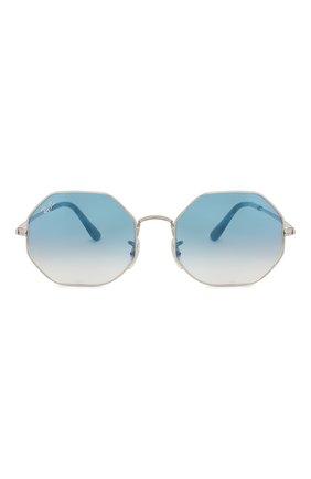 Женские солнцезащитные очки RAY-BAN голубого цвета, арт. 1972-91493F | Фото 4