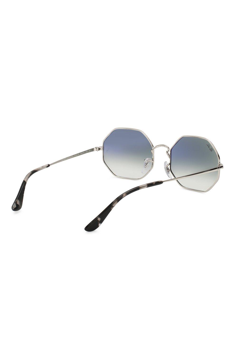Женские солнцезащитные очки RAY-BAN голубого цвета, арт. 1972-91493F | Фото 5