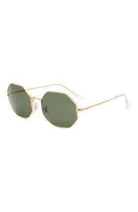 Женские солнцезащитные очки RAY-BAN темно-зеленого цвета, арт. 1972-919631 | Фото 1