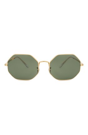 Женские солнцезащитные очки RAY-BAN темно-зеленого цвета, арт. 1972-919631 | Фото 4