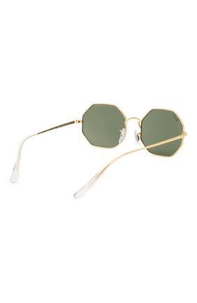 Женские солнцезащитные очки RAY-BAN темно-зеленого цвета, арт. 1972-919631 | Фото 5