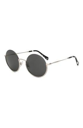 Женские солнцезащитные очки MIU MIU черного цвета, арт. 69US-1BC5S0 | Фото 1