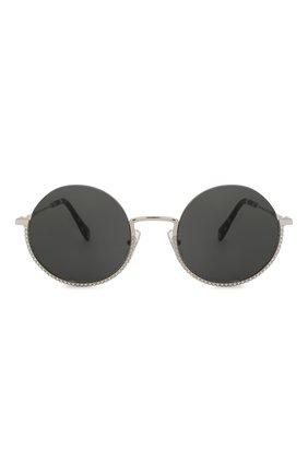 Женские солнцезащитные очки MIU MIU черного цвета, арт. 69US-1BC5S0 | Фото 3