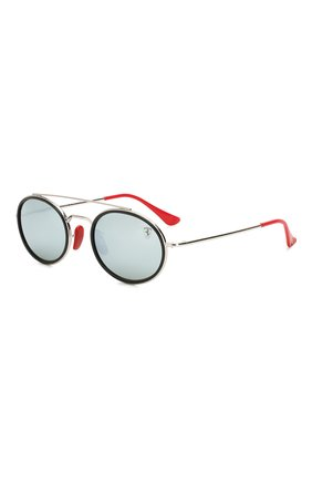Мужские солнцезащитные очки RAY-BAN красного цвета, арт. 3847M-F03130   Фото 1