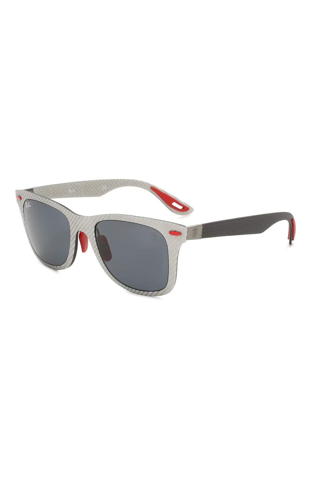 Женские солнцезащитные очки RAY-BAN серого цвета, арт. 8395M-F05687 | Фото 1