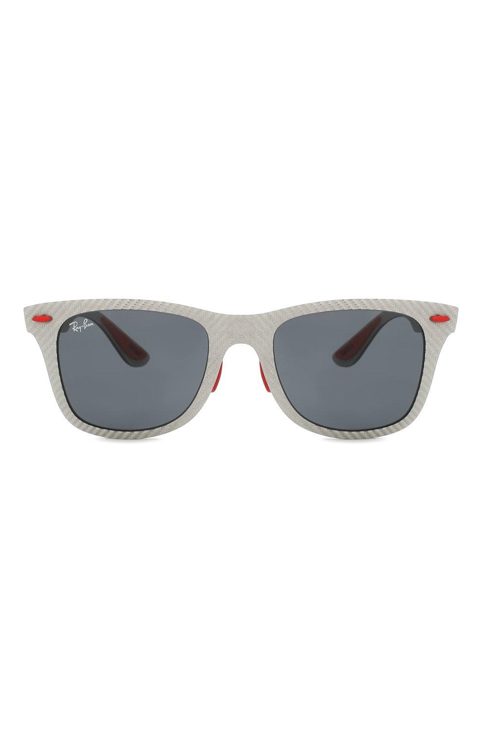 Женские солнцезащитные очки RAY-BAN серого цвета, арт. 8395M-F05687 | Фото 4