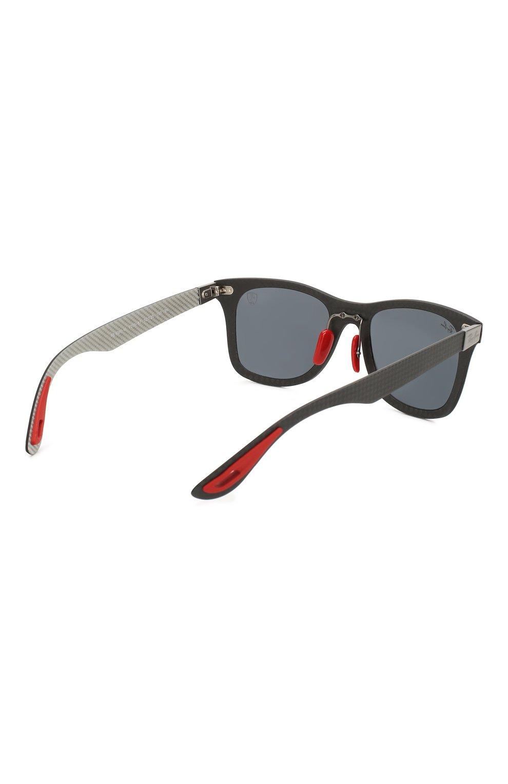 Женские солнцезащитные очки RAY-BAN серого цвета, арт. 8395M-F05687 | Фото 5