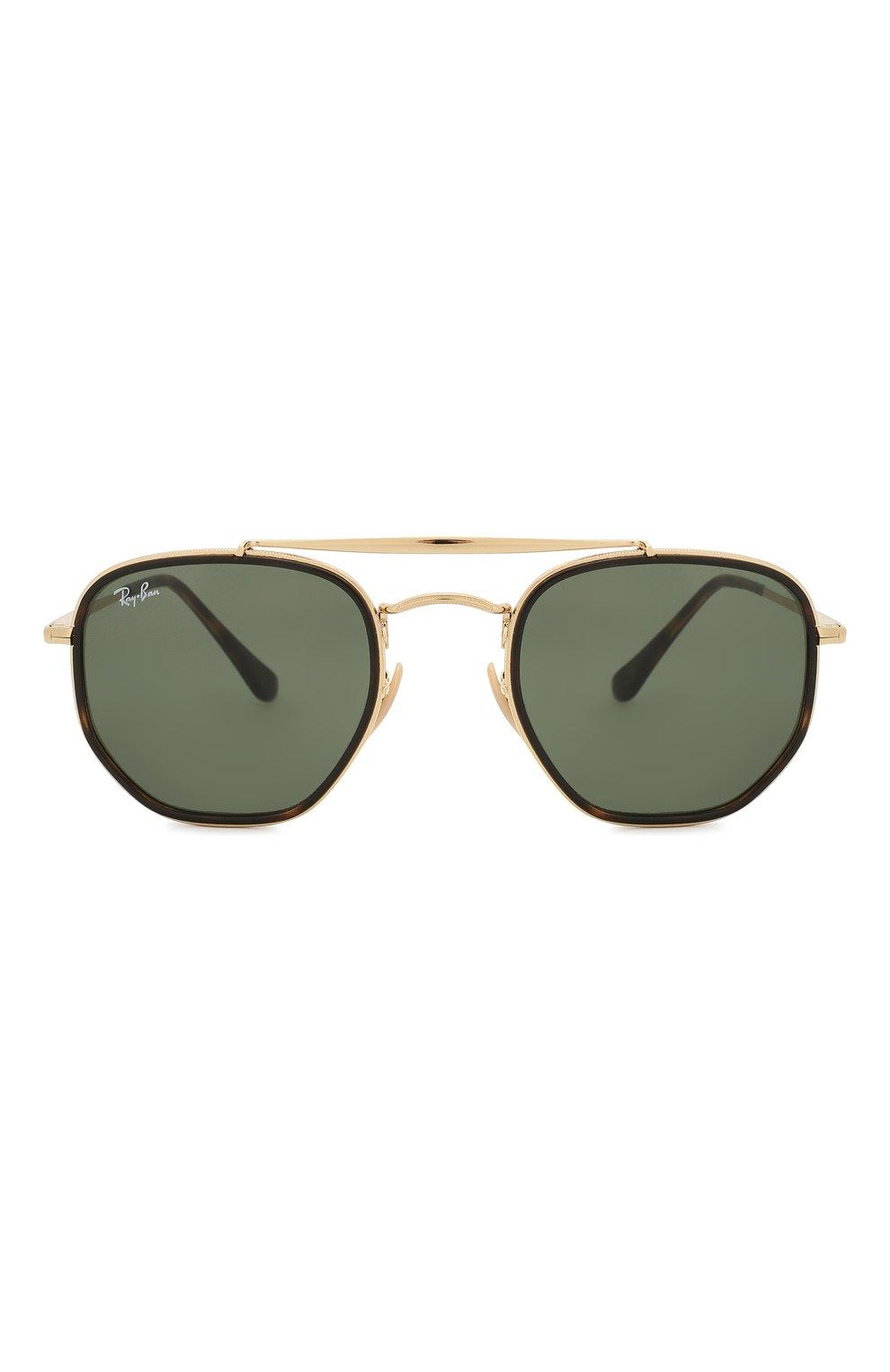 Женские солнцезащитные очки RAY-BAN темно-зеленого цвета, арт. 3648M-001 | Фото 4