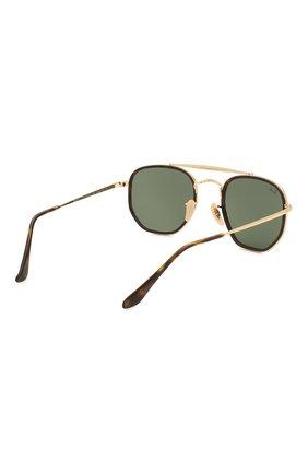 Женские солнцезащитные очки RAY-BAN темно-зеленого цвета, арт. 3648M-001 | Фото 5