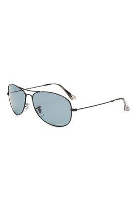 Женские солнцезащитные очки RAY-BAN черного цвета, арт. 3562-006/BA | Фото 1