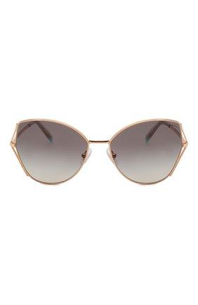 Женские солнцезащитные очки TIFFANY & CO. серого цвета, арт. 3072-61053C | Фото 3