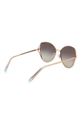 Женские солнцезащитные очки TIFFANY & CO. серого цвета, арт. 3072-61053C | Фото 4