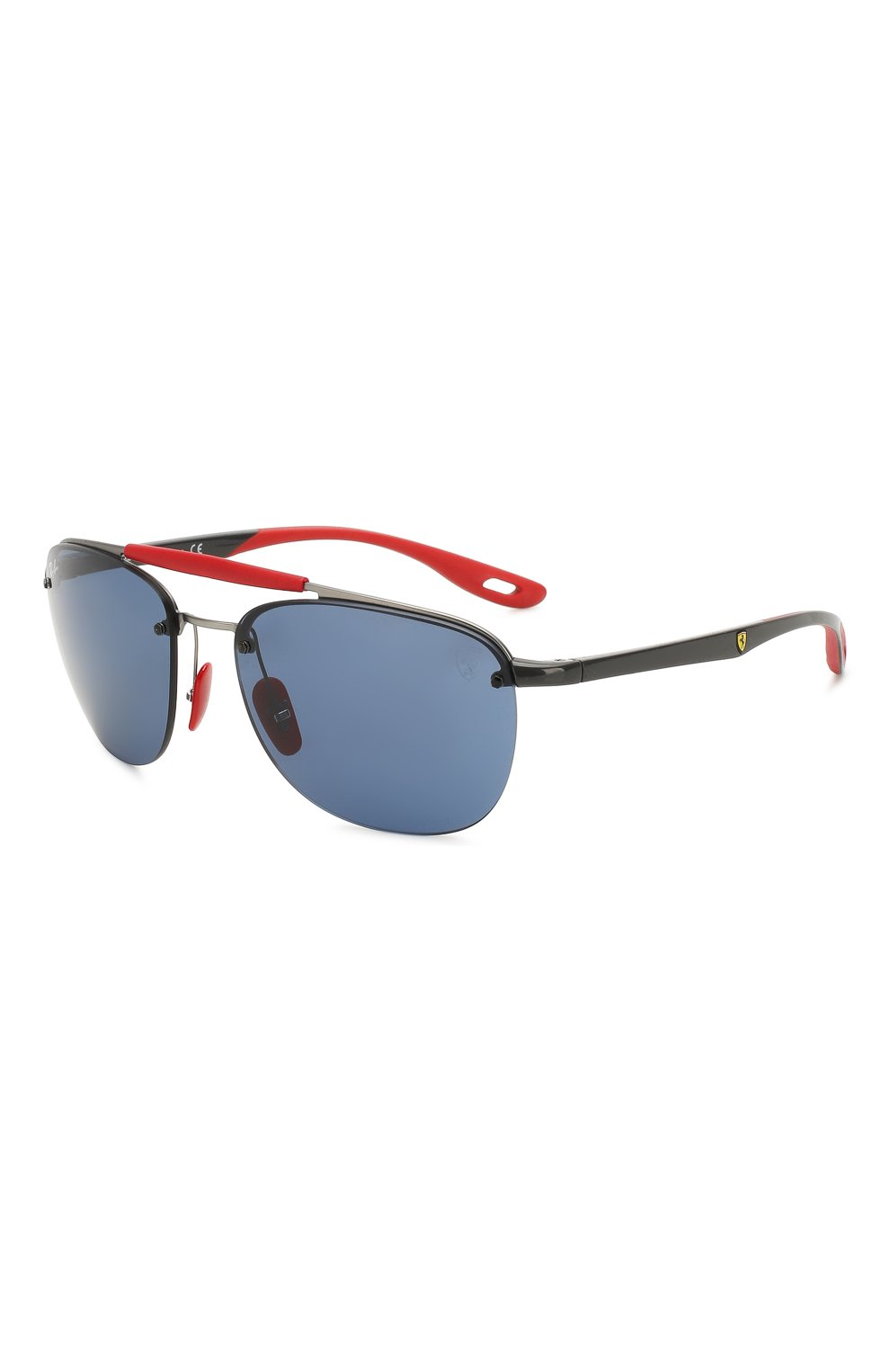 Женские солнцезащитные очки RAY-BAN синего цвета, арт. 3662M-F03780 | Фото 1