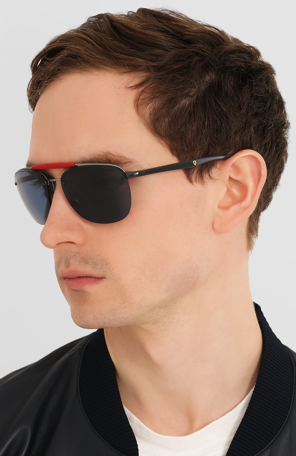 Женские солнцезащитные очки RAY-BAN синего цвета, арт. 3662M-F03780 | Фото 3