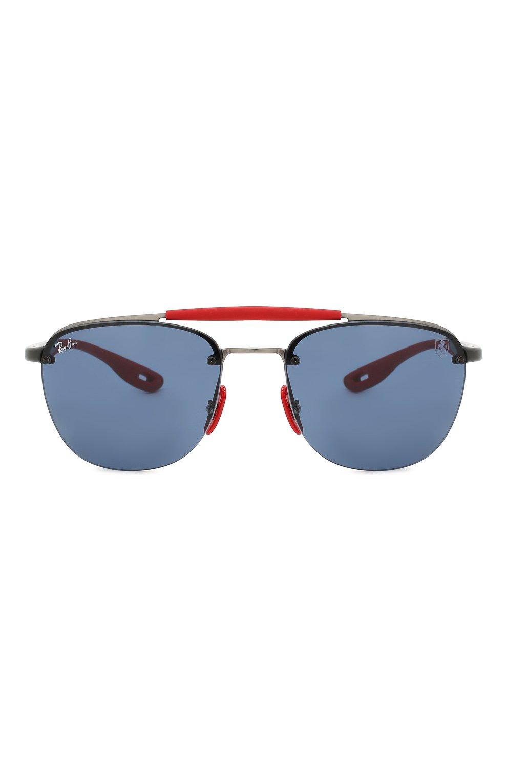 Женские солнцезащитные очки RAY-BAN синего цвета, арт. 3662M-F03780 | Фото 4