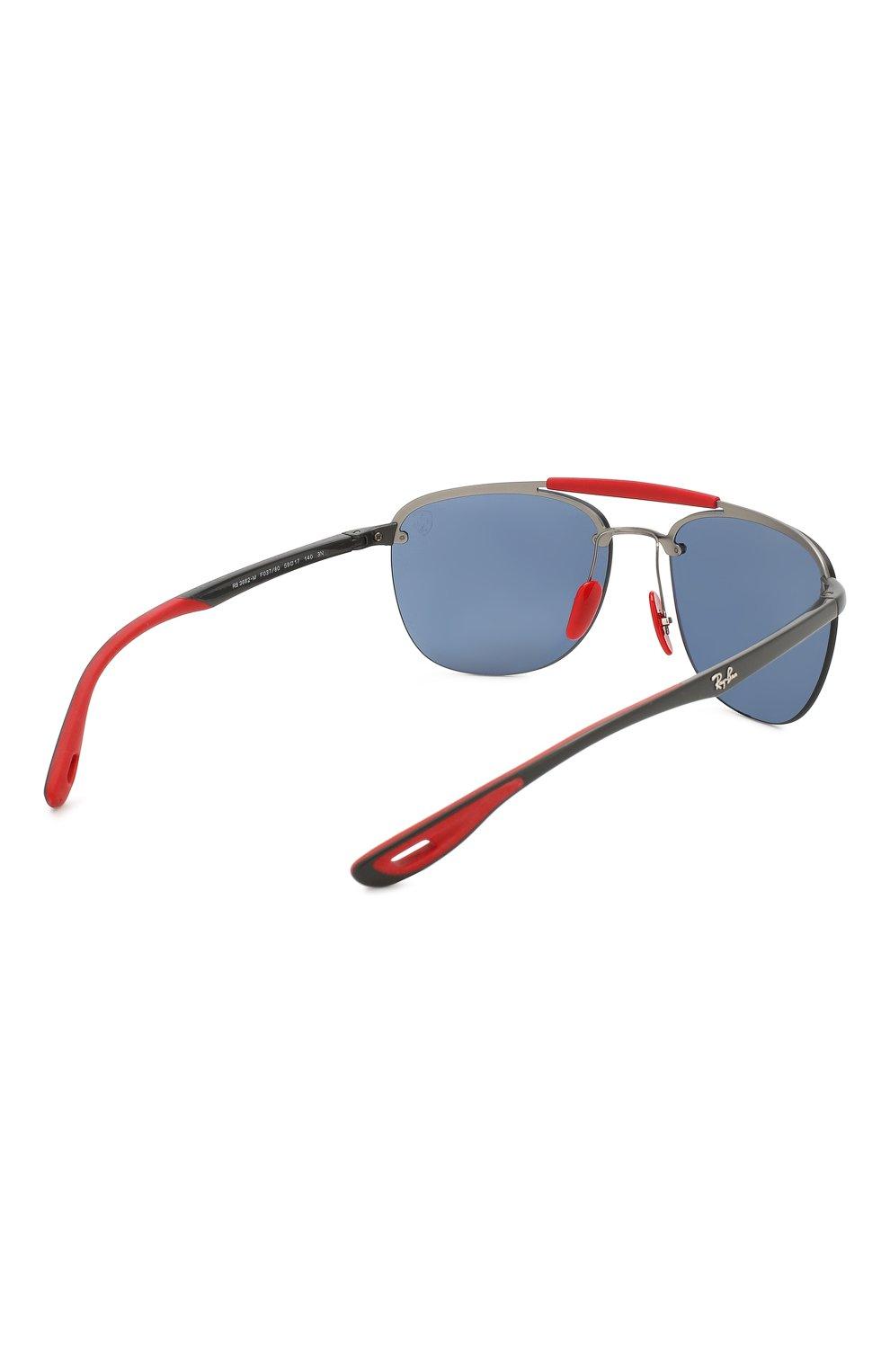 Женские солнцезащитные очки RAY-BAN синего цвета, арт. 3662M-F03780 | Фото 5