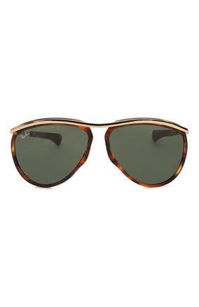 Женские солнцезащитные очки RAY-BAN коричневого цвета, арт. 2219-954/31 | Фото 4