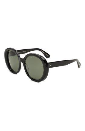 Женские солнцезащитные очки OLIVER PEOPLES черного цвета, арт. 5426SU-10059A | Фото 1