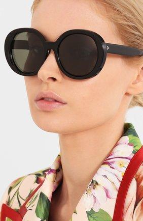 Женские солнцезащитные очки OLIVER PEOPLES черного цвета, арт. 5426SU-10059A | Фото 2