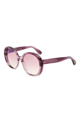 Женские солнцезащитные очки OLIVER PEOPLES фиолетового цвета, арт. 5426SU-1691H9   Фото 1